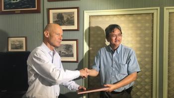signature accord Arue, Polynésie française