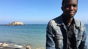 Portrait Mohamed Mbougar Sarr, écrivain, festival Étonnants voyageurs 2018, Saint Malo