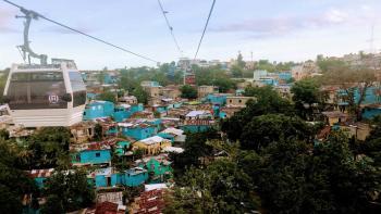 Téléphérique, Saint-Domingue, République dominicaine