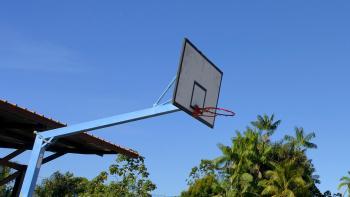 basketball panier sport ciel