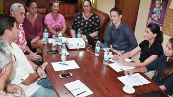 équipe municipale, réunion, Polynésie française