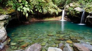 Guadeloupe, Bassin paradis chutes du Carbet - CC-BY-SA 4.0 Sylvain JORIS