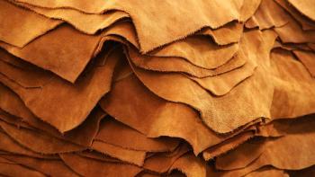 pile de cuir, industrie