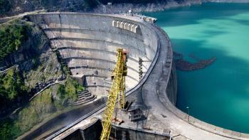 barrage hydroélectrique d'Inguri, énergie, Géorgie