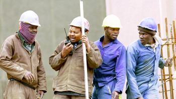 Afrique du Sud, ouvriers