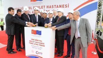 Turquie : un nouvel hôpital à la frontière syrienne