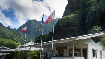 Bilan 2019 de l'investissement communal polynésien : un fort potentiel encouragé par l'AFD, mairie de Hanavave