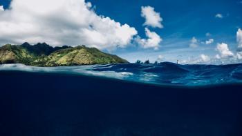 Lagon, Mooréa, Polynésie Française