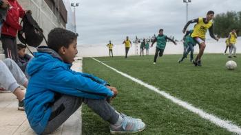 sport football Proville Tunisia project AFD youth