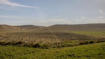 Jordanie AFD désert paysage