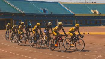 cyclisme Afrique AFD compétition cycliste stade course entraînement