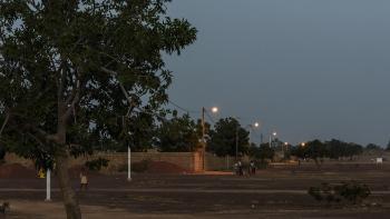 Burkina Faso, centrale de Zagtouli, paysage, lumière