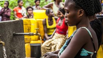 Afrique, RDC, eau