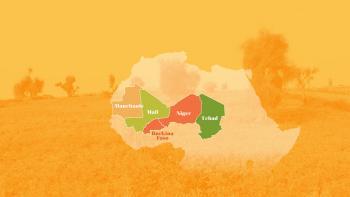 Carte Sahel
