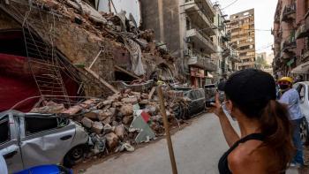 Débris à Beirut