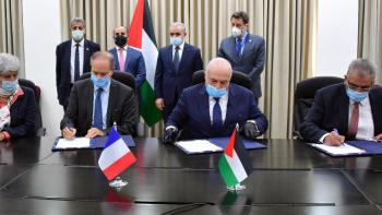AFD and Green Climate Fund  Support adaptation of irrigation to climate change in Palestine