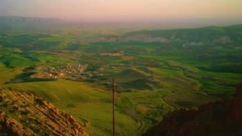 Overlooking the Nineveh Plains in Iraq