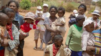 Africa children birthrates Madagascar