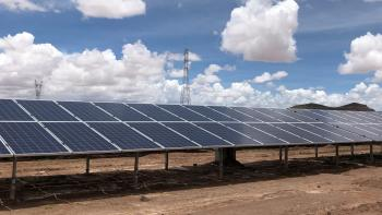 AFD inaugurates second phase of Bolivia's solar power station - one of the highest in the world