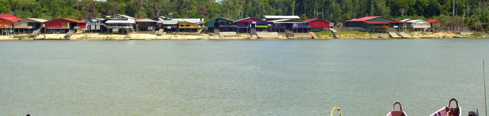 Rive du Maroni, Maripasoula, Guyane