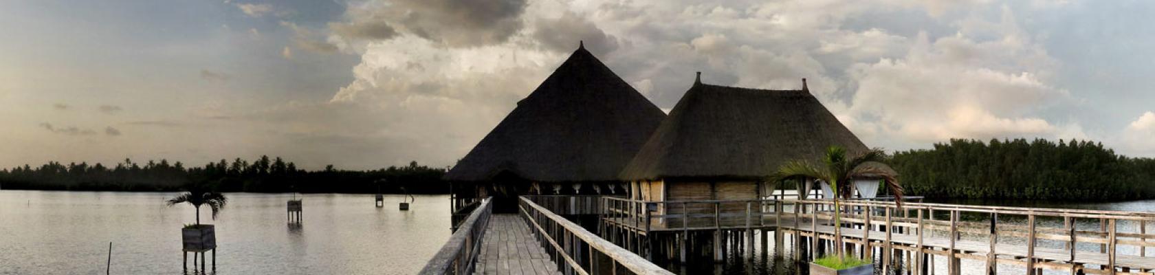 Bénin, Ouidah, casa del papa