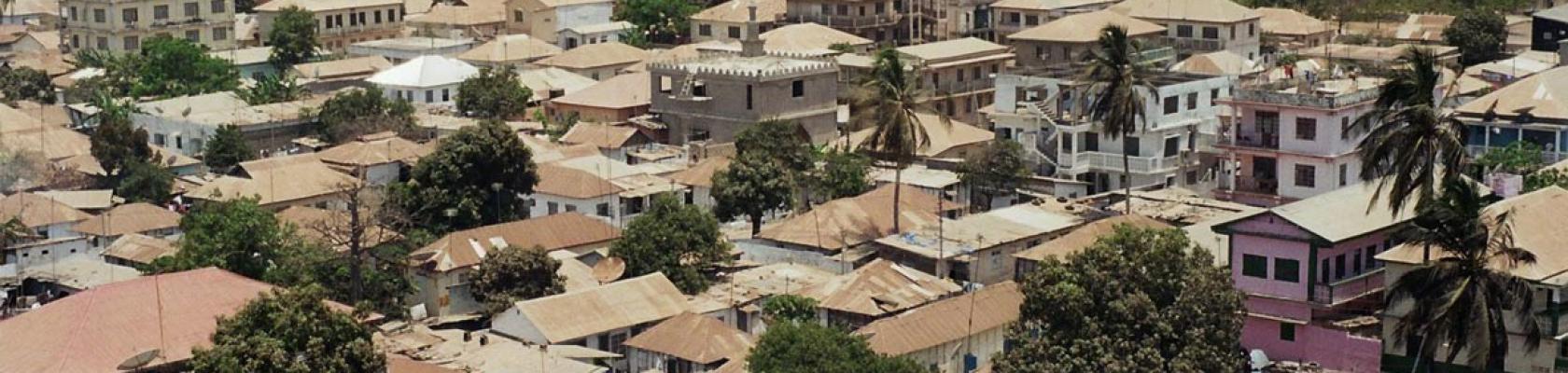 Banjul, capitale Gambie