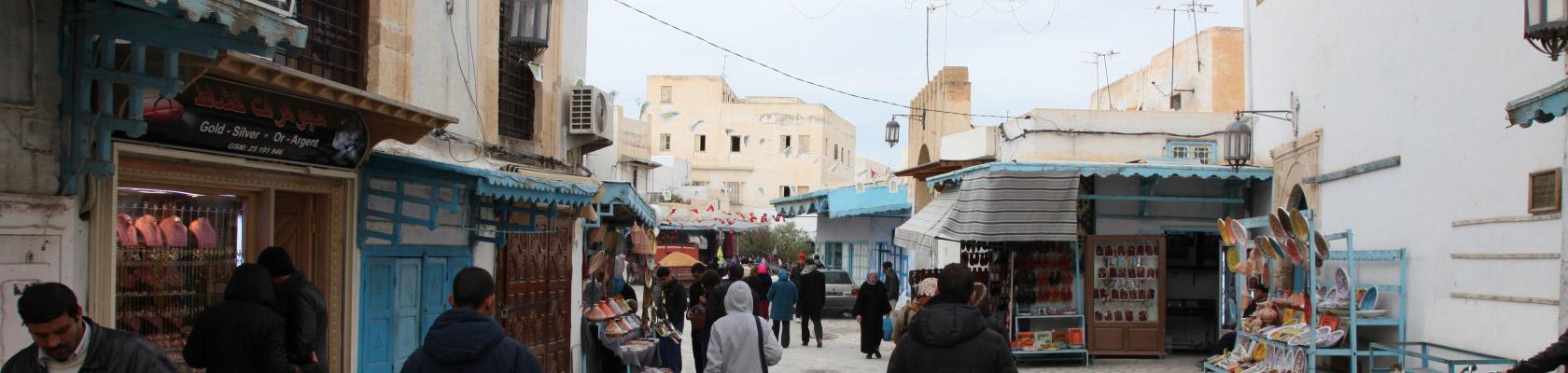 rue, ville Tunisie
