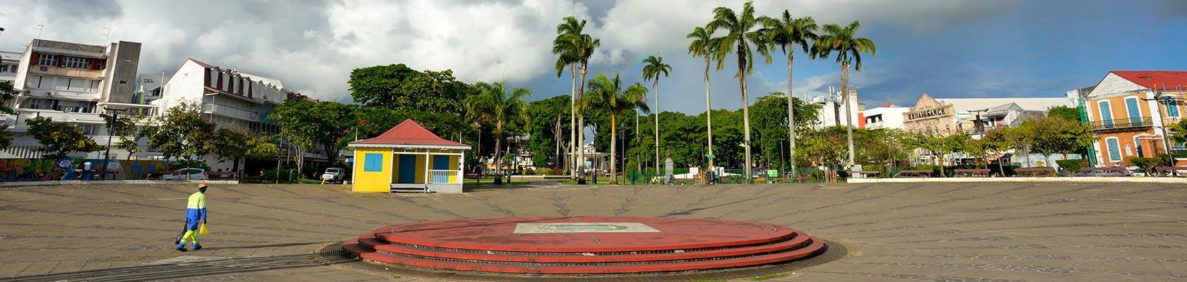 Place de la Victoire, Pointe à Pitre, Guadeloupe