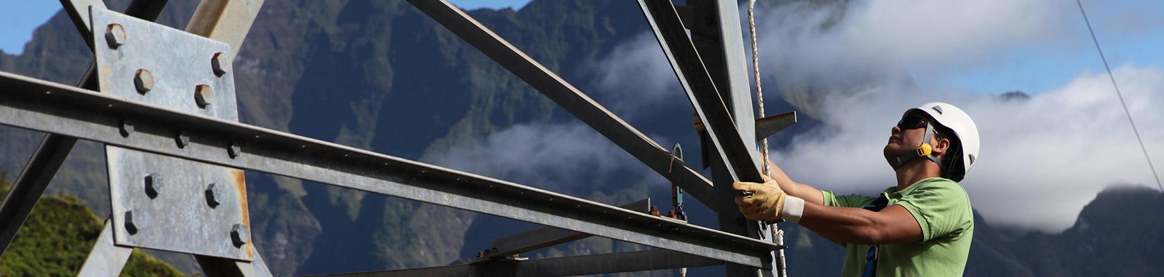électricité, énergie, Polynésie française