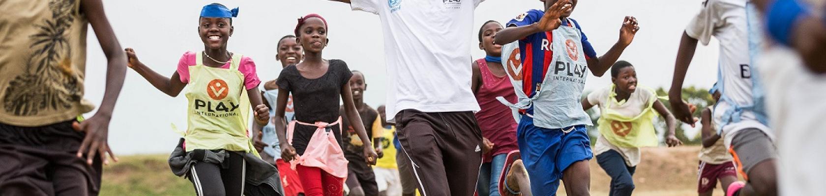 Une session de playdagogie par Play International au Burundi