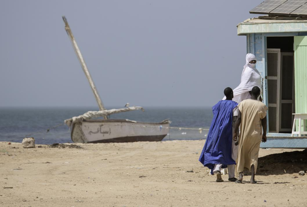 Fishing village, Mauritania