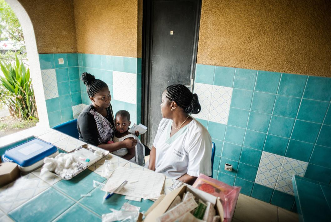 Mother, child, baby, health, vaccine, Democratic Republic of the Congo