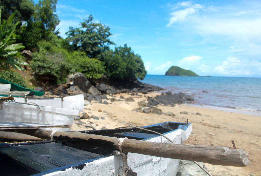 plage, barques, pêche, Mayotte