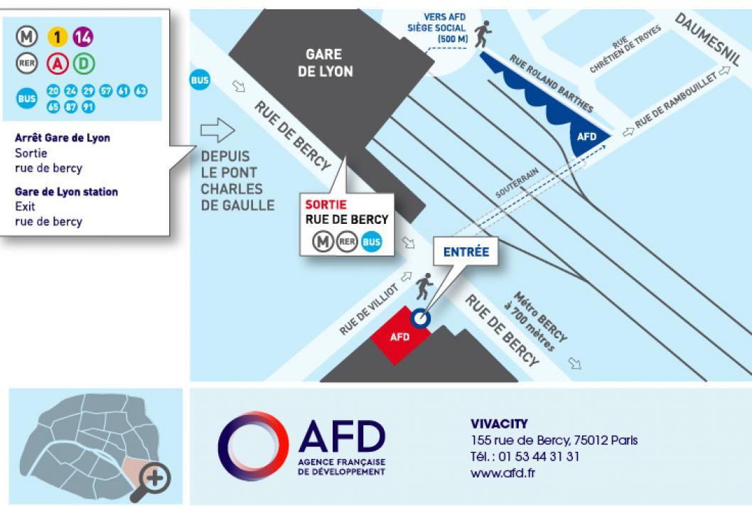 Vivacity - La Direction des ressources humaines de l'AFD
