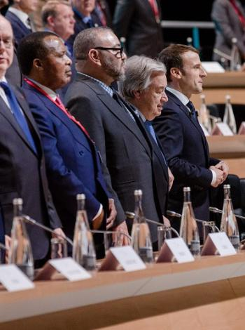 One Planet Summit ceremony Paris