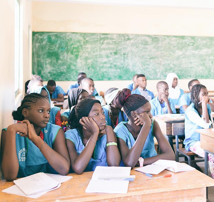 Sénégal, Casamance, Education, Andrianjafy
