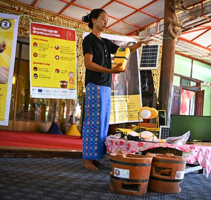 Myanmar: Women are working for sustainable energy