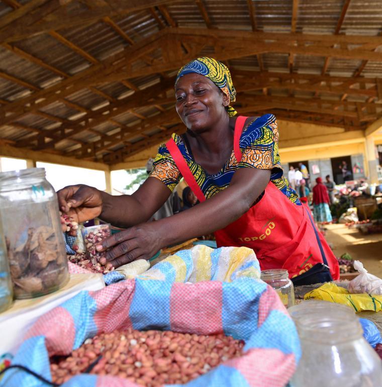 Marché au Cameroun