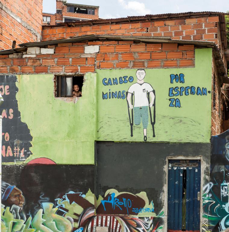 Graffitis, Medellín, Colombie