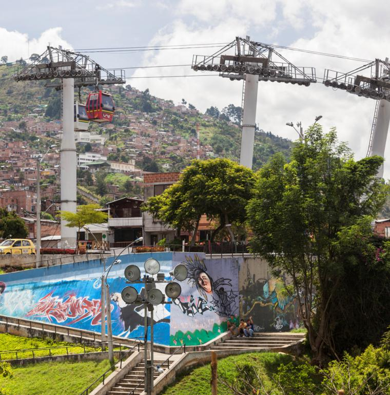 Medellín Metrocable  Colombia