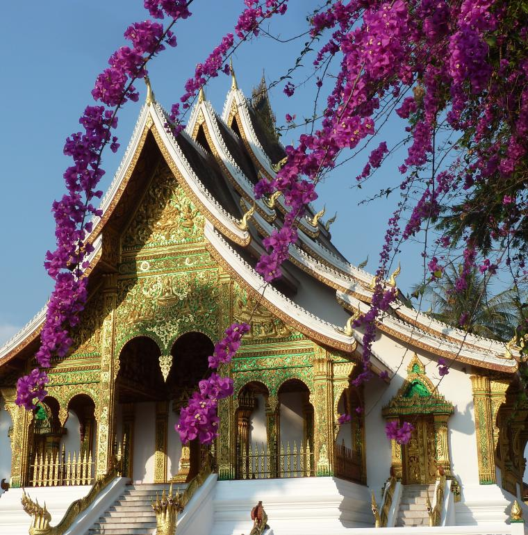 Ho Prabang, pagoda of the royal palace, Luang Prabang, Laos