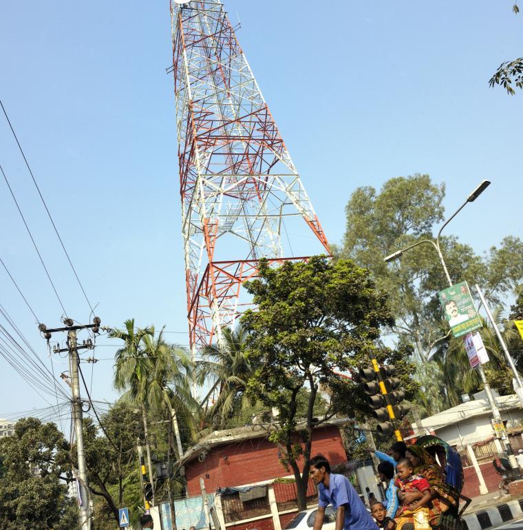 Bangladesh électricité rue