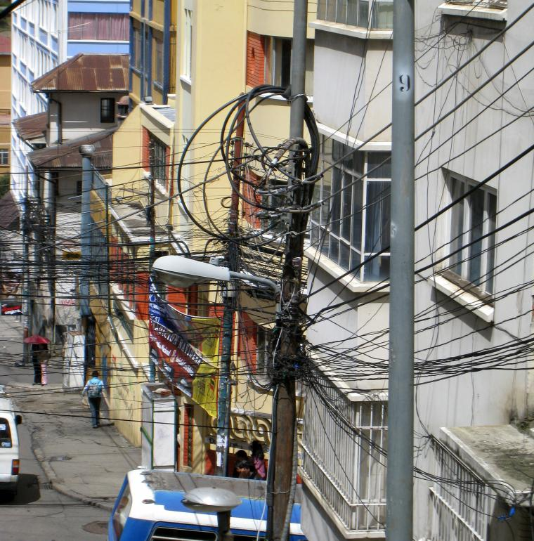 Bolivia Electric cables