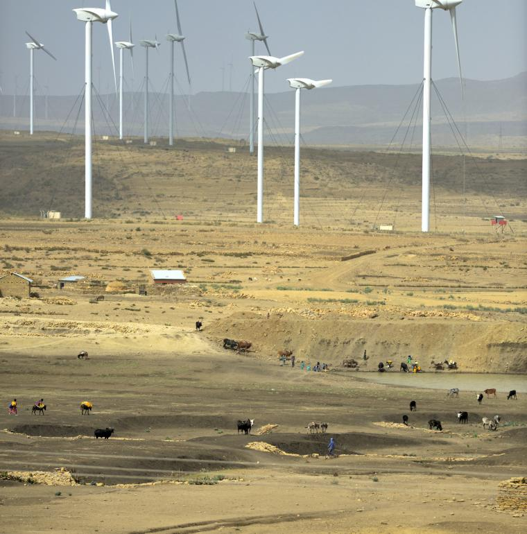 Ethiopia wind farm Ashegoda