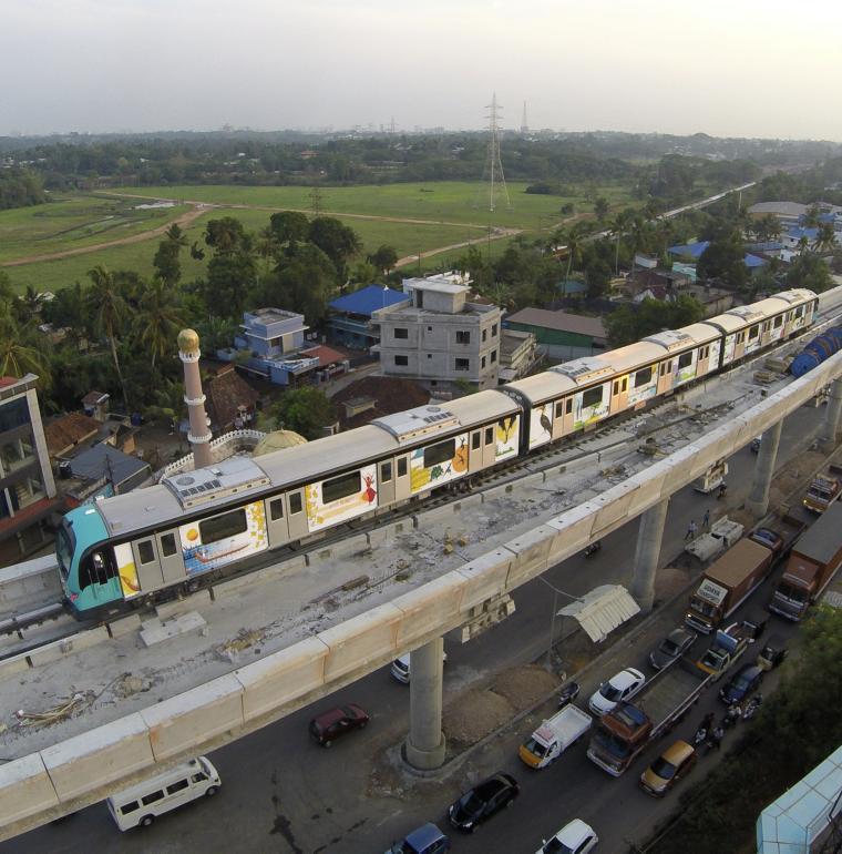 Inde métro à Kochi