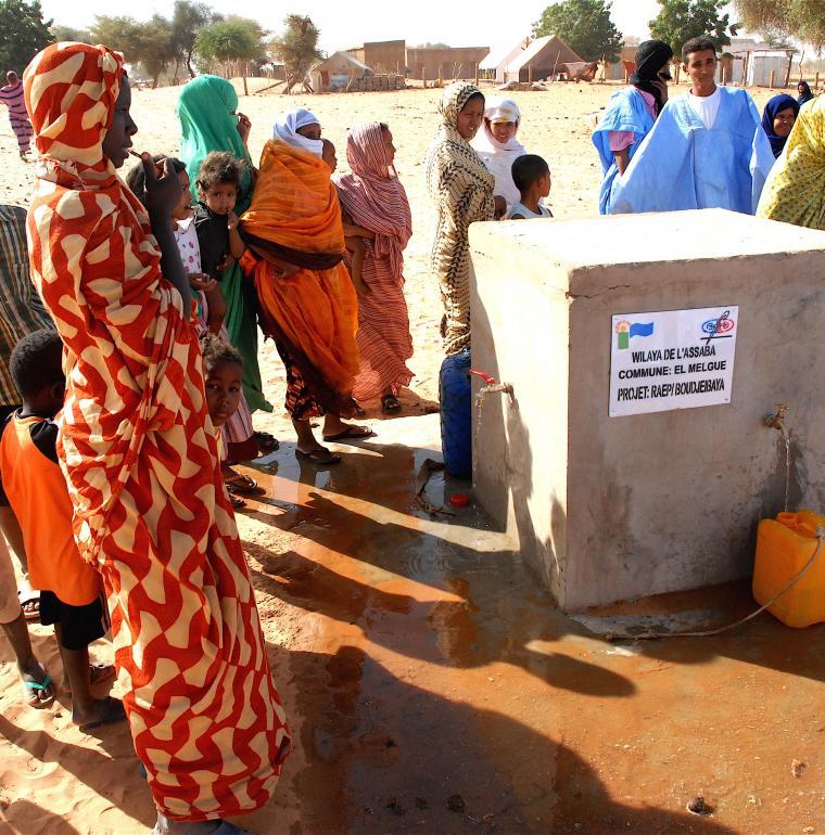 Mauritania Water conveyance Vaincre