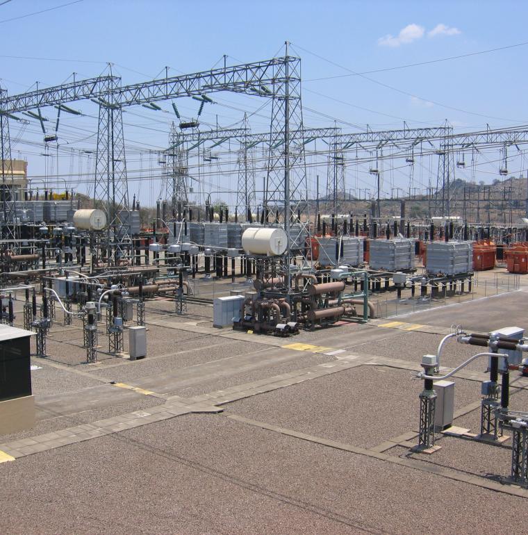 electricity plant, Songo, Mozambique