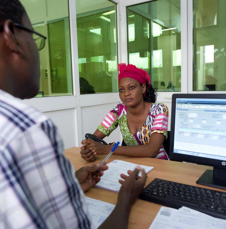 Niger femme homme banque microfinance secteur privé