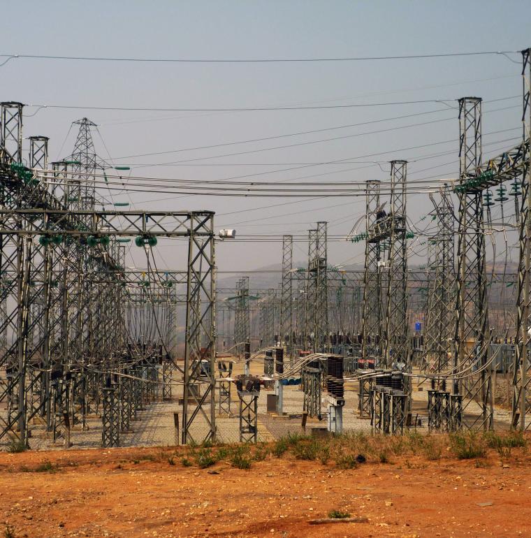 An electric relay in Nigeria