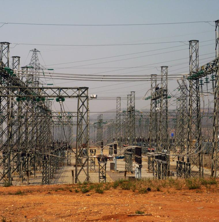 Nigéria centrale électrique